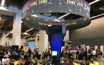 Comiccon 2019 – Zone de jeu Indie Loto-Québec